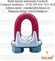 Brida forjata cablu